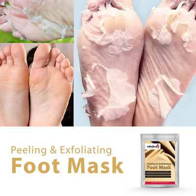 Exfoliating Peel Foot Mask Remove Hard Dead Skin Callus Socks Baby Soft Feet