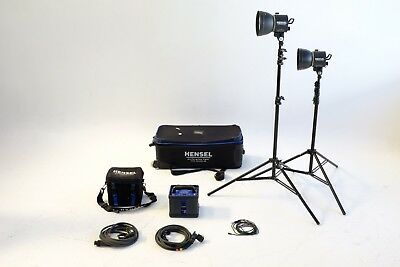 Hensel Porty L 1200 Portable Lighting Kit made in Germany. Awesome Equipment.