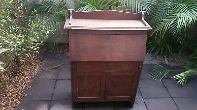 Antique/vintage Timber Writing Desk/bureau.