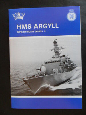 Royal Navy HMS ARGYLL Welcome Aboard 1993