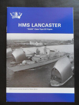 Royal Navy HMS LANCASTER Welcome Aboard 1998