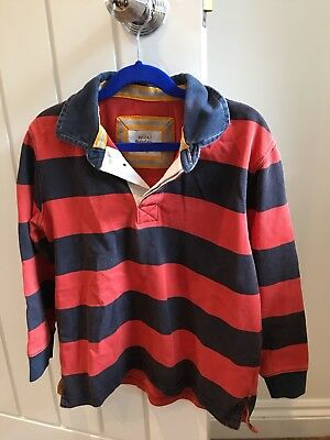Mini Boden Boys Rugby Shirt Age 7-8