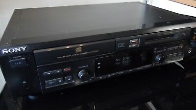 SONY  MXD D40 CD  MD MINIDISC PLAYER RECORDER DECK, fully serviced