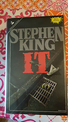 IT Stephen King 3a ediz. SPERLING & KUPFER 1987 - OTTIMO fascetta nera