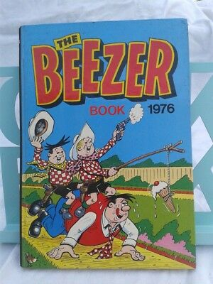 The Beezer Book 1976. Illustrated Hardback. DC Thomson. 1975