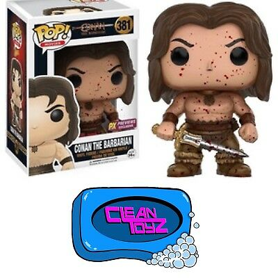 Funko Pop! Conan The Barbarian: Conan With Blood Splatter PX Exclusive IN STOCK