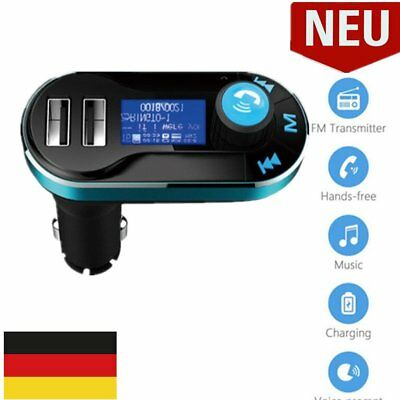 KFZ FM Transmitter MP3 Player Auto Freisprechanlage Car USB SD AUX