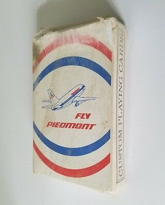 Fly Piedmont Defunct Airlines Vintage Playing Poker Unopened Cards Sealed