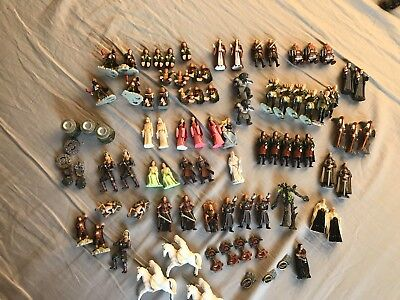 Lord Of The Rings 1 2 3 Lotr Kinder Surprise Figures Set Collectibles Huge Lot!