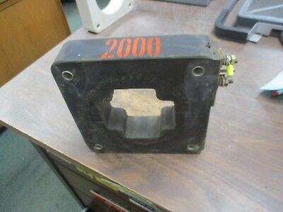GE Type JAD-0 Current Transformer 750X20G13 Ratio 2000:5A 600V 10KV BIL Used