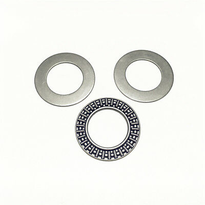 1pcs AXK75100 75x100x4 mm Needle Roller Thrust Bearing with Two Washers Each