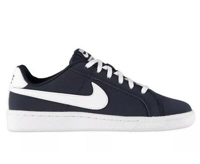 Nike Court Royale GS Navy White Trainers Boys Pumps Size 3 Junior