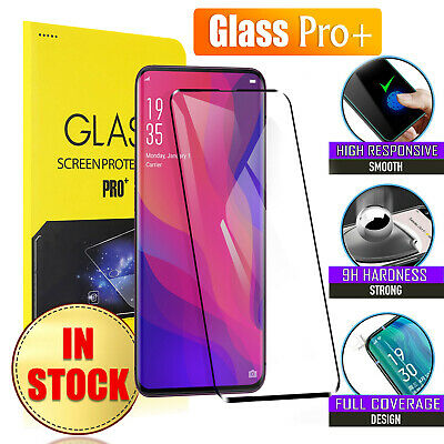 5D Full Coverage Tempered Glass Screen Protector For Oppo Find X | Oppo AX5 | A5