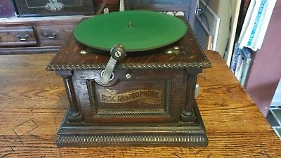 """Columbia Model """"ah"""" First Style Phonograph !"""