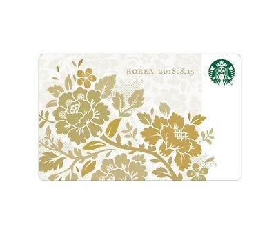 Starbucks Korea 2018 Independence Day Korea Card