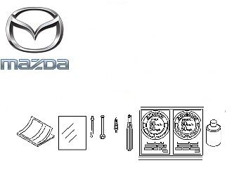 Genuine Mazda CX-5 2012-2017 Spare Wheel Mobility Kit - 4100LP010