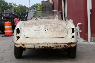 Alfa romeo gullia spider 1964, complete car, for restoration, cream on red,CHEAP