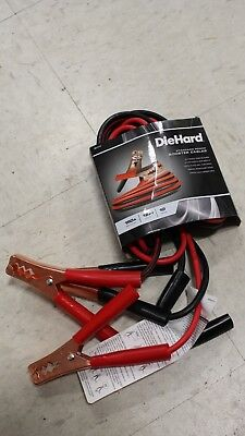 DH1210 DieHard 12 ft. 10 Ga. Booster Cable Clamps