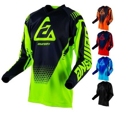 Answer Racing Syncron Drift Youth Off Road Dirt Bike ATV Racing Motocross Jersey