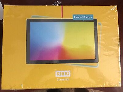 """Kano Build Your Own Computer HD Screen Kit 10.1"""" LCD 720P Kids 1002D - NEW"""