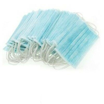 Disposable ear-loop face mask (100 pc per box) 3Ply - blue color