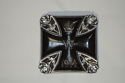 Germany - bronze memorial badge WWI for the wall (german Iron Cross)