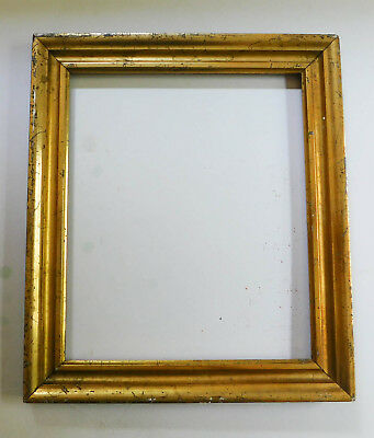 Antique Victorian Vintage Wood Gold Gilt Gesso Frame Holds 8 x 10 Picture