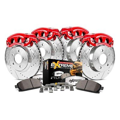 For Chevy Astro 03-05 Brake Kit 1-Click Extreme Z36 Truck & Tow Drilled &