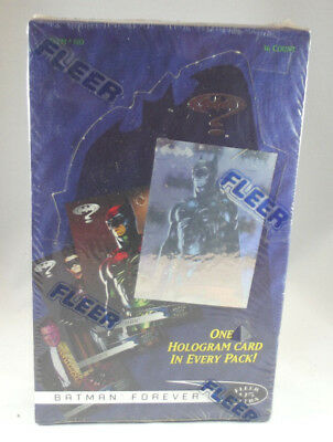Vintage Fleer 95 Ultra Batman Forever Cards Full Box of 36 Packs Sealed