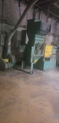 """Cumberland Model 30  Grinder 100 HP Solid Rotor with 24""""  with blower"""