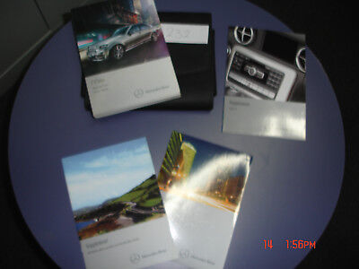 Mercedes C Class Saloon & Estate  owners manual printed 2011 ( Pack 232 )