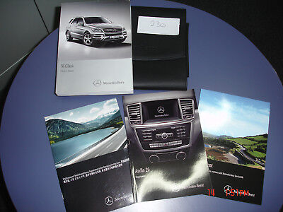 Mercedes M Class  owners manual printed 2012 ( Pack 230 )