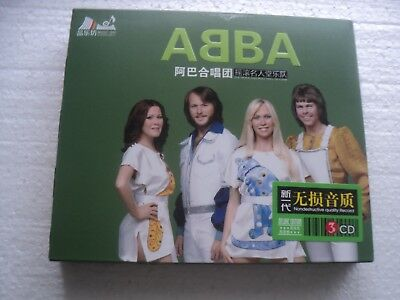 ABBA  - Greatest Hits - Hong Kong only edition 3 CD BOX SET + Insert / New