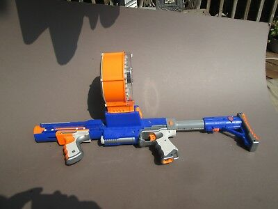 Nerf Raider CS-35 N Strike Rapid Fire Dart Gun with Darts Drum and Stock