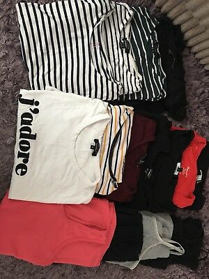 Maternity clothes Tops Size 12-14  Joblot