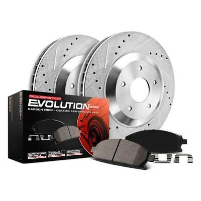 Power Stop K2323 Front Z23 Evolution 1-Click Brake Kit for 01-02 Toyota Sequoia