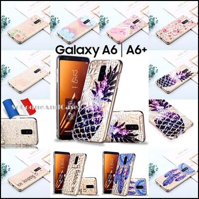 Etui housse coque silicone 3D Diamond TPU Case Samsung Galaxy A6 / A6+ 2018