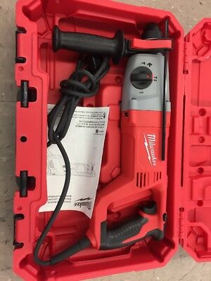Milwaukee 5262-21 SDS Hammer Drill + hard case
