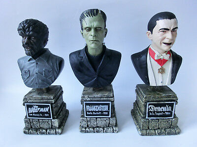 Universal Monster The Legacy Collection  Dracula Frankenstein Wolfman Sideshow