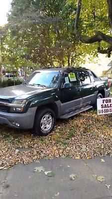 2002 Chevrolet Avalanche Grey chevy avalanche 4x4 Z71 Off Road Package