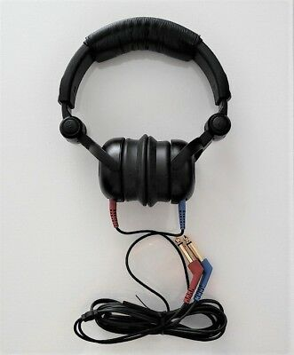 Headphones  For Audiometer With Tdh 39  And Cables