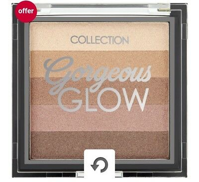 Gorgeous Glow Bronzing Block No 2 by Collection Cosmetics
