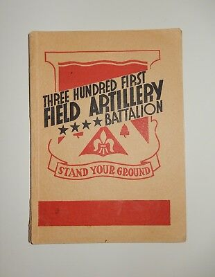 301st Three Hundred First FIELD ARTILLERY Battalion Stand Your Ground paperback