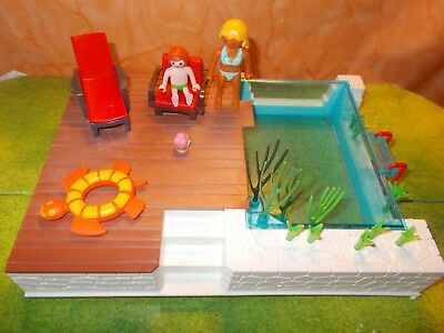 Playmobil 5575 Einbau Swimming Pool