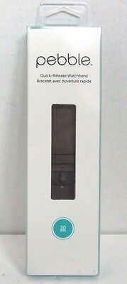 Pebble Smartwatch Replacement Band for Pebble Time Round 20mm - Brown