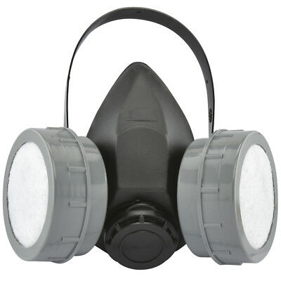 Respirator Mask | Dual Filter Anti Dust Paint Protective Cartridge Organic Vapor