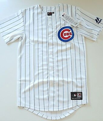 MAJESTIC CHICAGO CUBS AUTHENTIC MLB Official Baseball Jersey Shirt Men's XS