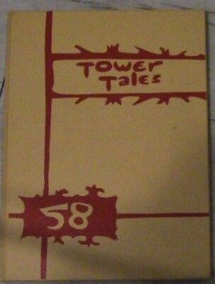 1958  Madison, Wisconsin East High Yearbook
