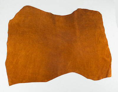 hides skins BOTTLE GREEN #229 ITALIAN Goat Suede Leather Hide skin