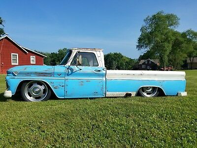 1965 Chevrolet C-10  1965 chevrolet C10 Gmc Bagged Fuel Injected LS 5.3 Rat Rod Custom Barn Find